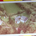 You can see Sloe cottage and stables on this photo
